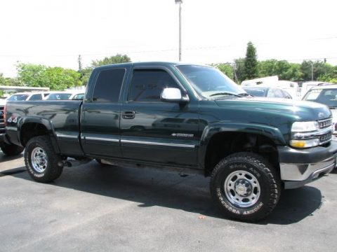 used 2001 chevrolet silverado 2500hd ls extended cab 4x4. Black Bedroom Furniture Sets. Home Design Ideas