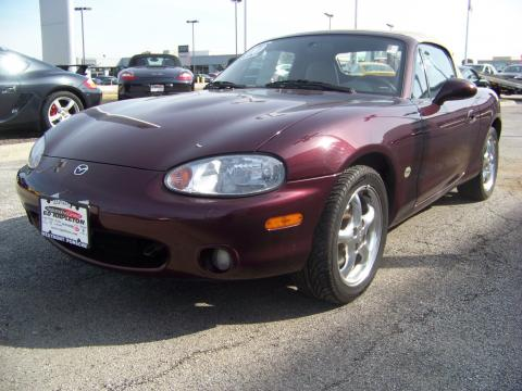 used 2000 mazda mx 5 miata special edition roadster for. Black Bedroom Furniture Sets. Home Design Ideas
