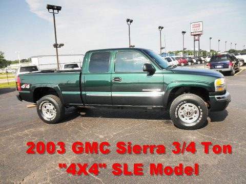 Used 2003 GMC Sierra 2500HD SLE Extended Cab 4x4 for Sale ...