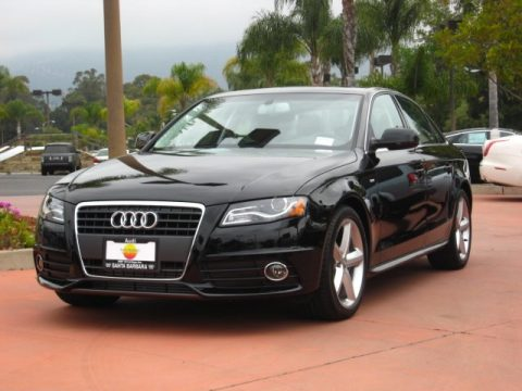 Audi A4 Sedan Black