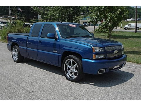 used 2003 chevrolet silverado 1500 ss extended cab awd for sale stock c378349 dealerrevs. Black Bedroom Furniture Sets. Home Design Ideas