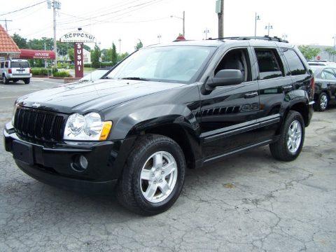 Used 2007 Jeep Grand Cherokee Laredo 4x4 For Sale Stock
