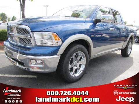 new 2011 dodge ram 1500 laramie crew cab for sale stock. Black Bedroom Furniture Sets. Home Design Ideas