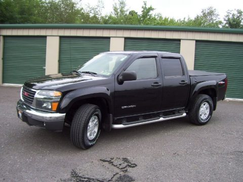 used 2004 gmc canyon sle crew cab 4x4 for sale stock 6691a dealer car ad. Black Bedroom Furniture Sets. Home Design Ideas