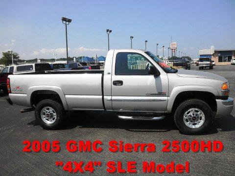 Used 2005 GMC Sierra 2500HD SLE Regular Cab 4x4 for Sale ...