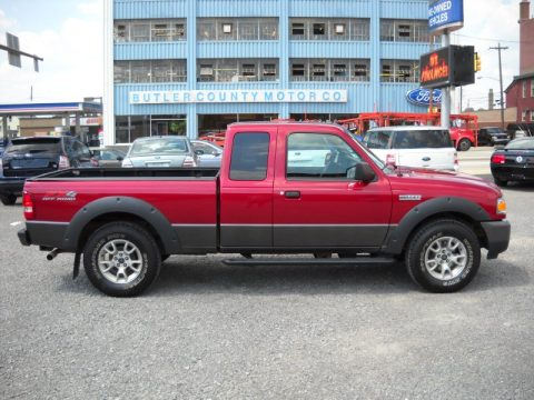 used 2008 ford ranger fx4 off road supercab 4x4 for sale stock hh821. Black Bedroom Furniture Sets. Home Design Ideas