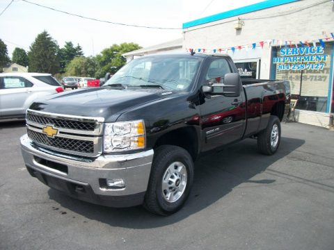 new 2011 chevrolet silverado 2500hd lt regular cab 4x4 for sale stock 11nt518 dealerrevs. Black Bedroom Furniture Sets. Home Design Ideas