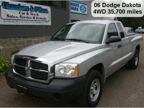 used 2006 dodge dakota st club cab 4x4 for sale stock. Black Bedroom Furniture Sets. Home Design Ideas