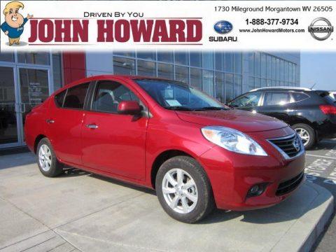 New 2012 Nissan Versa 1 6 Sl Sedan For Sale Stock