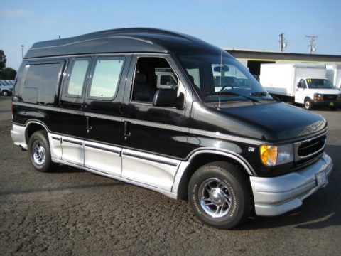 used 2000 ford e series van e150 passenger conversion for. Black Bedroom Furniture Sets. Home Design Ideas