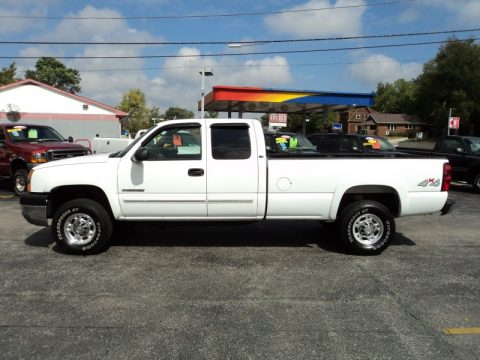 used 2004 chevrolet silverado 2500hd ls extended cab 4x4. Black Bedroom Furniture Sets. Home Design Ideas