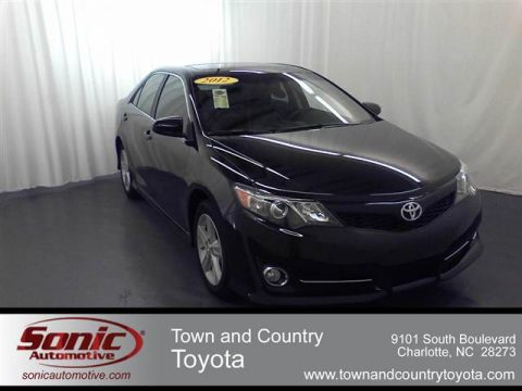 new 2012 toyota camry se for sale stock cu502237 dealer car ad 54684112. Black Bedroom Furniture Sets. Home Design Ideas