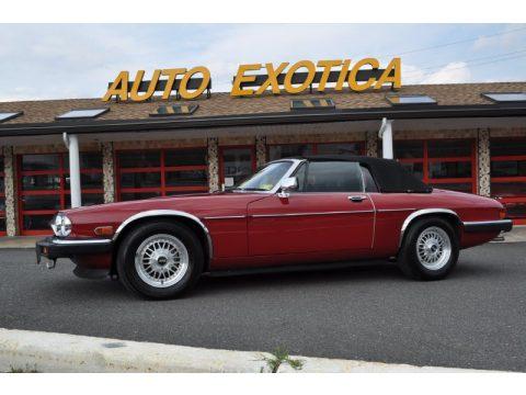 used 1988 jaguar xj xjs v12 convertible for sale stock 140850 dealer car. Black Bedroom Furniture Sets. Home Design Ideas