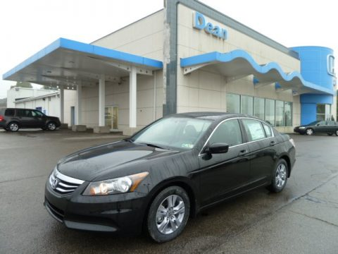 New 2012 Honda Accord Se Sedan For Sale Stock 12086