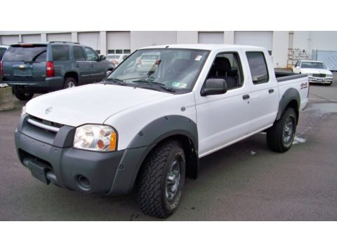 used 2002 nissan frontier xe crew cab 4x4 for sale stock. Black Bedroom Furniture Sets. Home Design Ideas