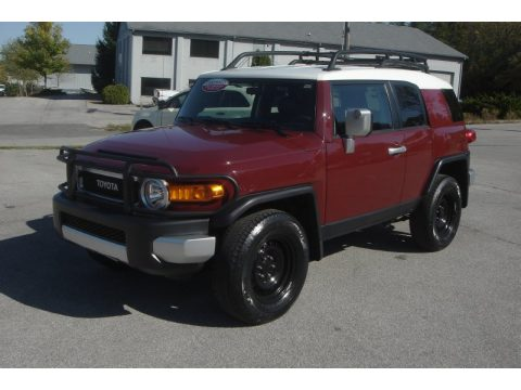 Used 2008 Toyota Fj Cruiser 4wd For Sale Stock T016748