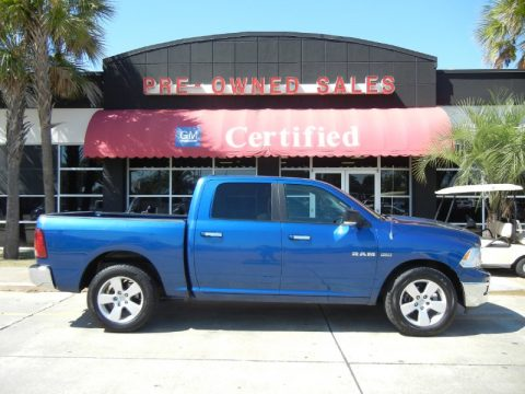 Used 2009 Dodge Ram 1500 Big Horn Edition Crew Cab For Sale Stock 2112105a