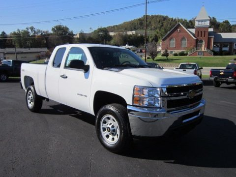 new 2012 chevrolet silverado 2500hd work truck extended cab 4x4 for sale stock 32050. Black Bedroom Furniture Sets. Home Design Ideas