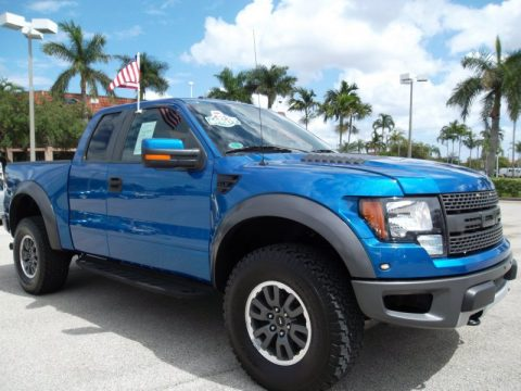 Used 2010 Ford F150 Svt Raptor Supercab 4x4 For Sale Stock 97297l