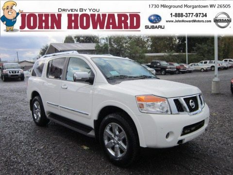 New 2012 Nissan Armada Platinum 4wd For Sale Stock