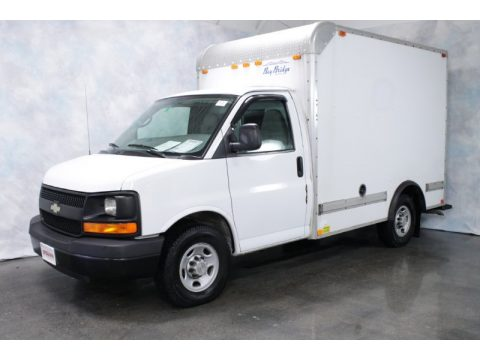 used 2008 chevrolet express cutaway 3500 commercial moving van for sale stock fsq1124a. Black Bedroom Furniture Sets. Home Design Ideas