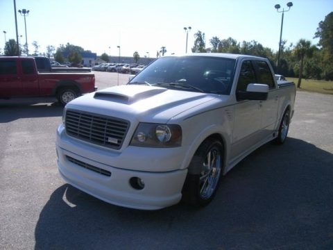 Oxford White Ford F150 Cragar Special Edition SuperCrew.  Click to enlarge.