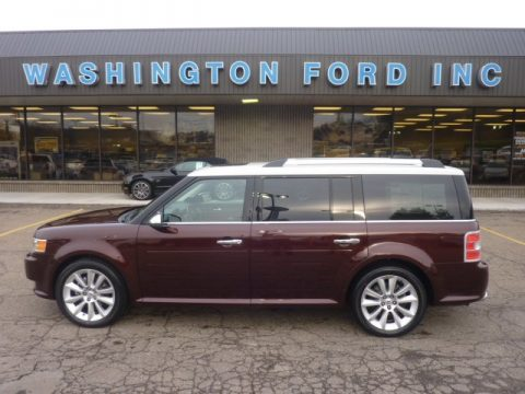 Cinnamon Metallic Ford Flex Limited Ecoboost Awd Click To Enlarge