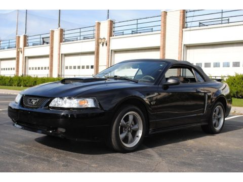 used 2001 ford mustang gt convertible for sale stock 10 3587 dealer car ad. Black Bedroom Furniture Sets. Home Design Ideas