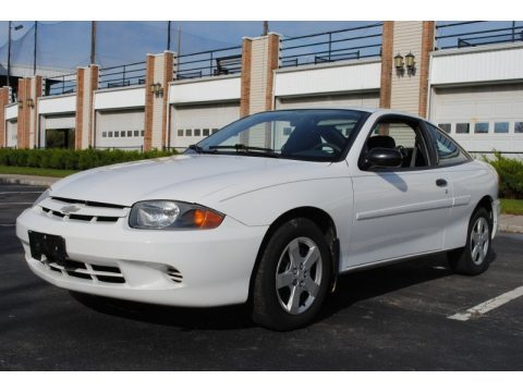 Summit White Chevrolet Cavalier LS Coupe.  Click to enlarge.