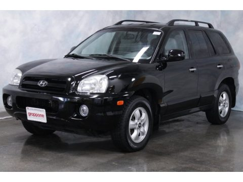 used 2006 hyundai santa fe limited 4wd for sale stock. Black Bedroom Furniture Sets. Home Design Ideas