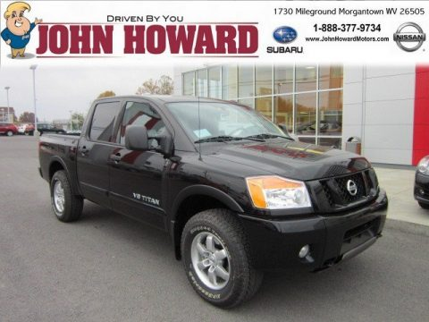 New 2012 Nissan Titan Pro 4x Crew Cab 4x4 For Sale Stock