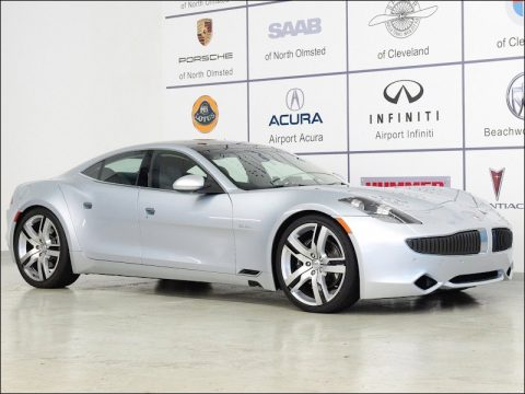 Silver Wind Fisker Karma EcoChic.  Click to enlarge.