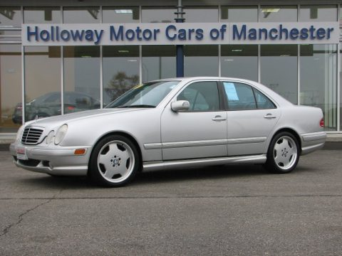 Used 2002 mercedes benz e 55 amg sedan for sale stock for Holloway motor cars manchester