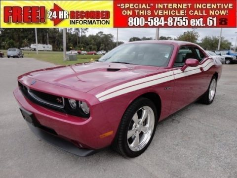 used 2010 dodge challenger r t classic furious fuchsia edition for sale stock 7078p. Black Bedroom Furniture Sets. Home Design Ideas