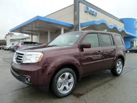 new 2012 honda pilot ex l 4wd for sale stock 12135 dealer car ad 56705339. Black Bedroom Furniture Sets. Home Design Ideas