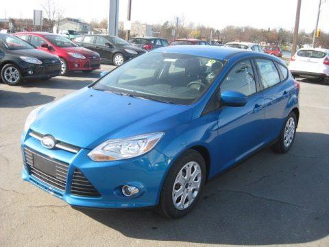 hatchback blue new 2012 ford focus se 5 door for sale stock 12113 dealerrevs