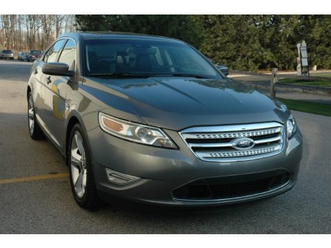 Sterling Grey Ford Taurus SHO AWD.  Click to enlarge.