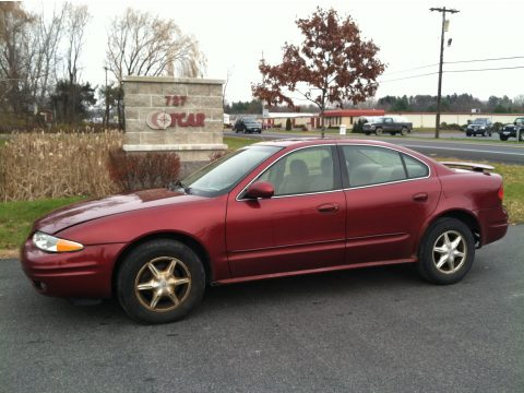 used 2000 oldsmobile alero gl sedan for sale stock. Black Bedroom Furniture Sets. Home Design Ideas
