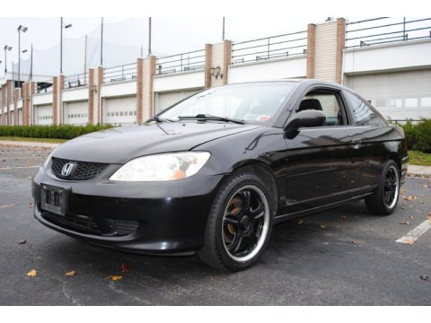 Used 2005 Honda Civic LX Coupe for Sale - Stock #027851 | DealerRevs