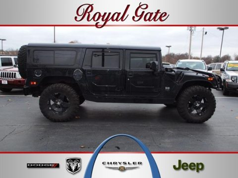 Used 2002 Hummer H1 Wagon For Sale Stock J55040a