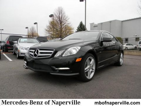 New 2012 mercedes benz e 550 coupe for sale stock for Mercedes benz of naperville naperville il