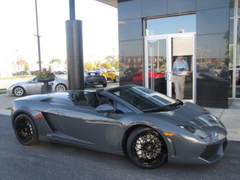 Used 2010 Lamborghini Gallardo Lp560 4 Spyder For Sale Stock