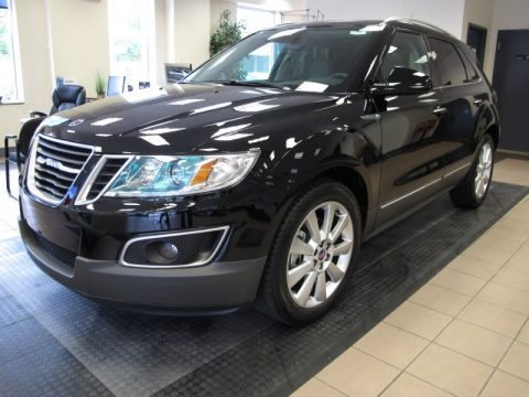 Zodiac Black Metallic Saab 9-4X Aero XWD.  Click to enlarge.