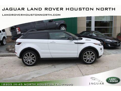 Jaguar Land Rover Houston North   Houston, Texas. Fuji White Land Rover  Range Rover Evoque Coupe Dynamic. Click To Enlarge.