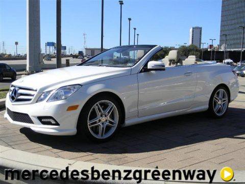 Used 2011 mercedes benz e 550 cabriolet for sale stock for Mercedes benz of houston greenway houston tx