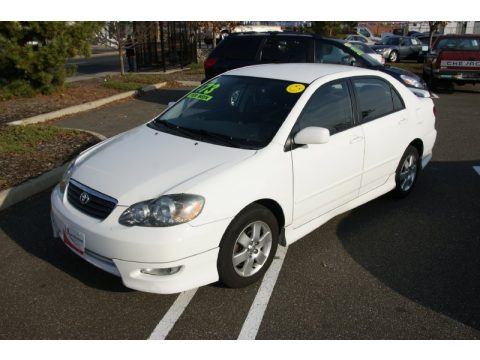 Used 2005 Toyota Corolla S for Sale  Stock W7254  DealerRevs