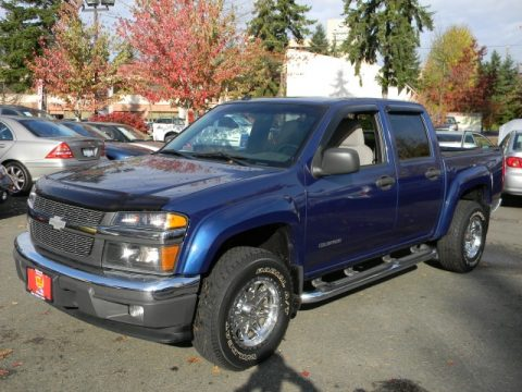 used 2005 chevrolet colorado ls crew cab 4x4 for sale stock 58135136. Black Bedroom Furniture Sets. Home Design Ideas