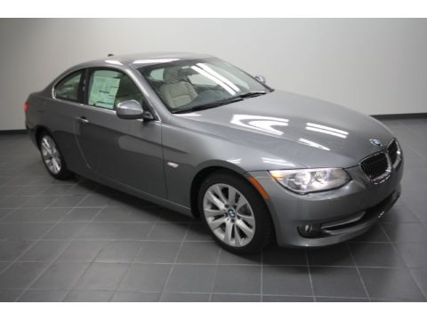 Space Grey Metallic BMW 3 Series 328i Coupe Click To Enlarge