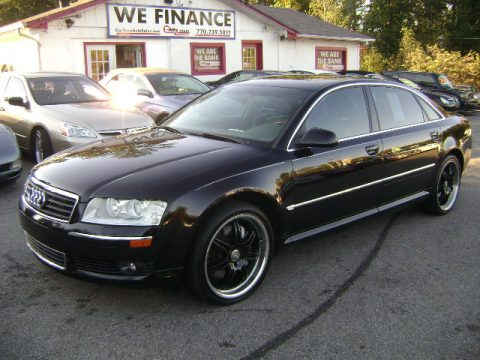 used 2005 audi a8 l 4 2 quattro for sale stock 9048. Black Bedroom Furniture Sets. Home Design Ideas