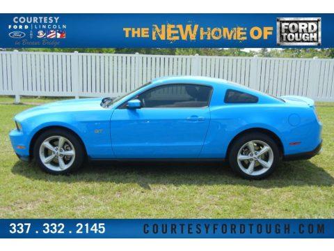 2010 Grabber Blue Mustang For Sale Grabber Blue Ford Mustang gt